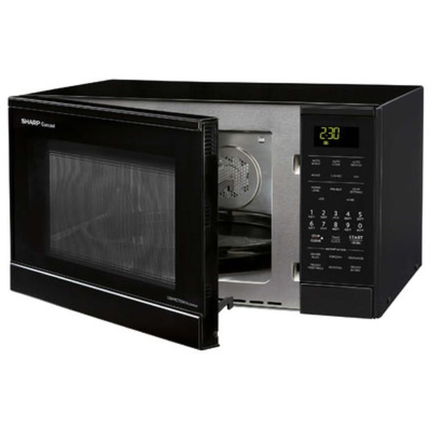 Sharp Carousel 0 9 Cu Ft 900w Countertop Convection Microwave