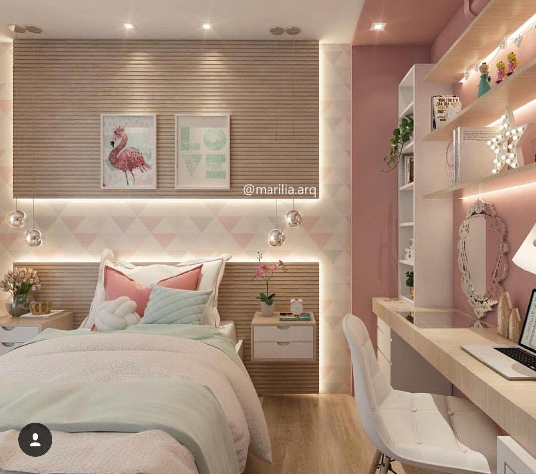 Schlafzimmer, Zimmer Mädchen Und