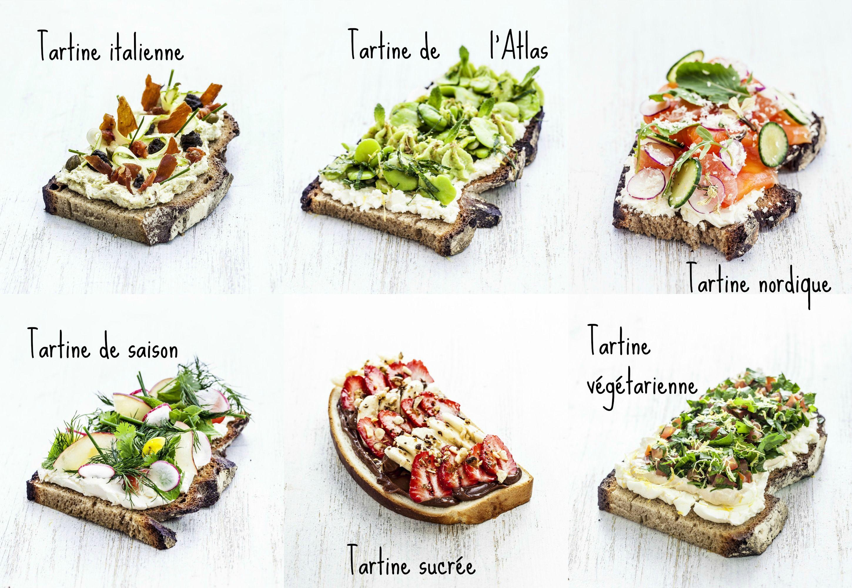 tartines-philadelphia-bar-ephemere | Tartine, Alimentation, Vegetarien