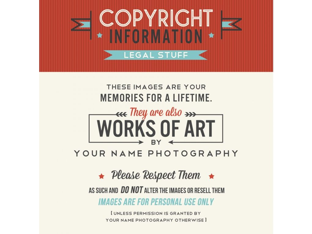 Really Nice Copyright Notice Wording The Shoppe  Branding