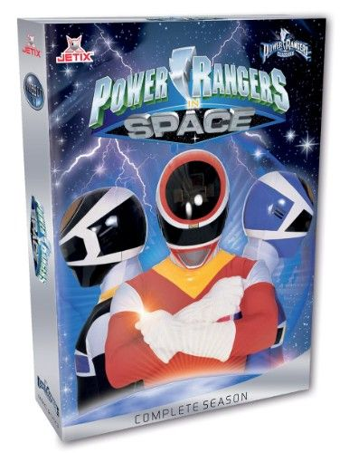 DVD Power Rangers ClassixX - In Space