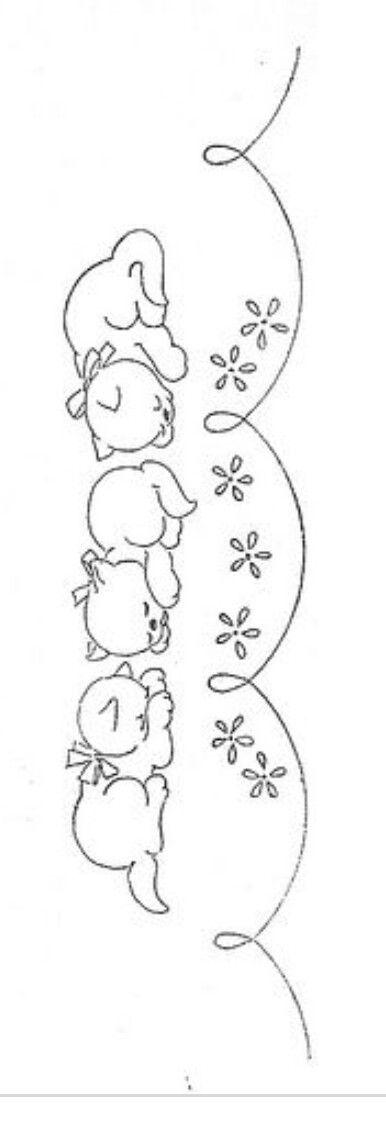Pin de clara r en Cruz | Pinterest | Bordado, Bebe y Dibujo