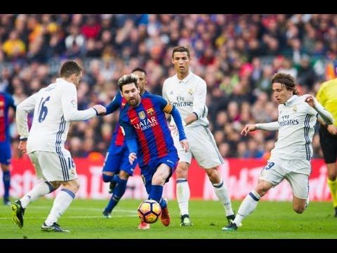 Barcelona Vs Real Madrid 1 1 Full Match Highlights 03 12 2016