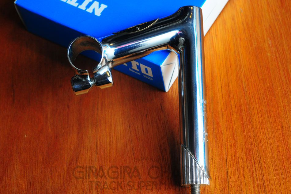 Nitto Jaguar Craft 2 Badged Stem - $190.00 : Track Supermarket - NJS/Keirin track/fixed gear bikes, frames, and parts from Japan