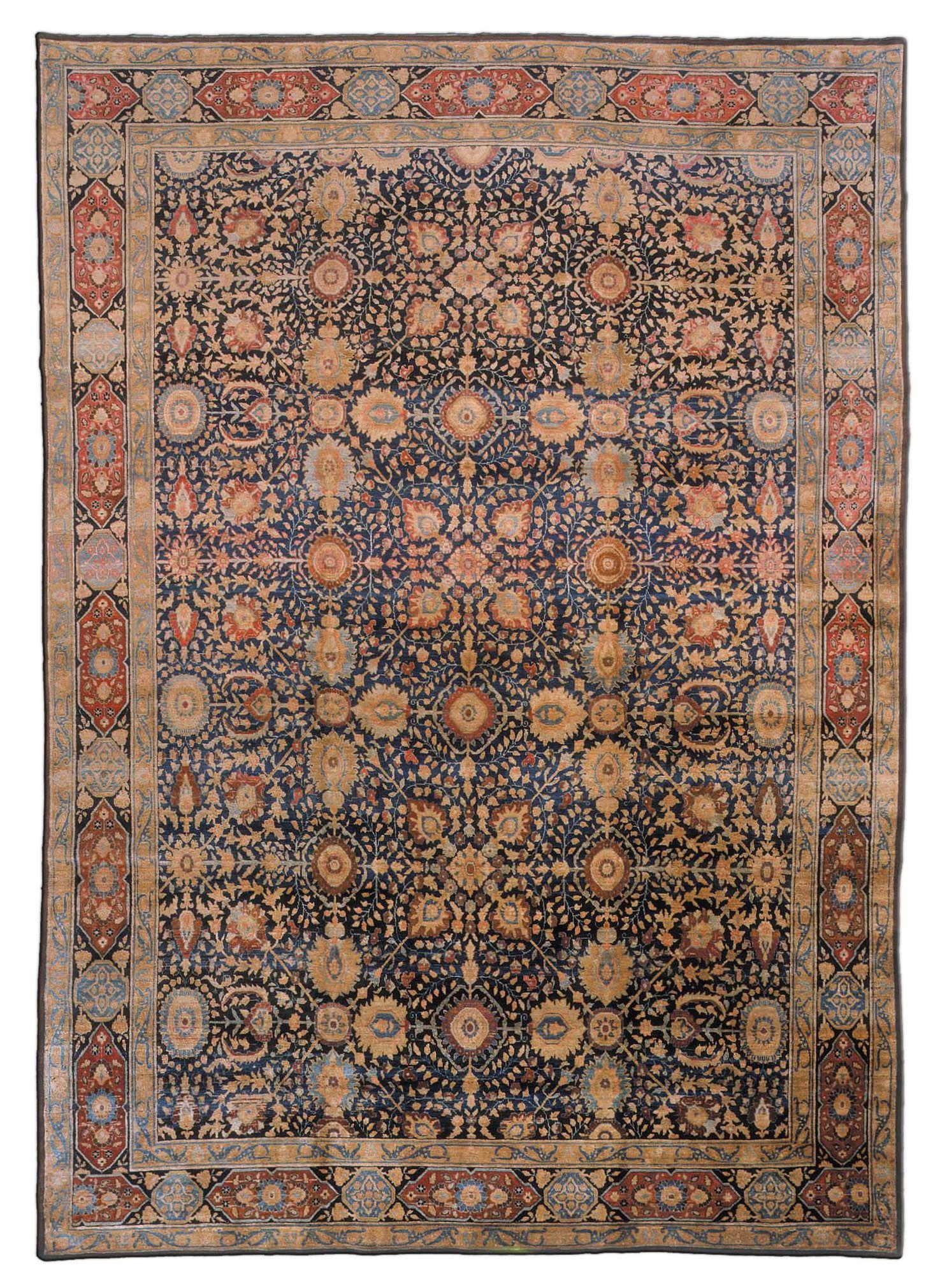 Antique Persian Tabriz Carpet Bb7404 By Dlb Persian Rug Rugs Tabriz Rug