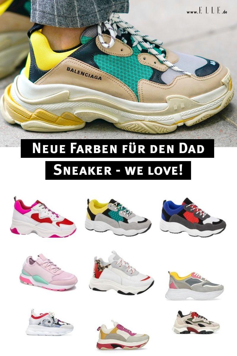 Dad Sneaker kommen jetzt in neuen Farben | Turnschuhe, Bunte
