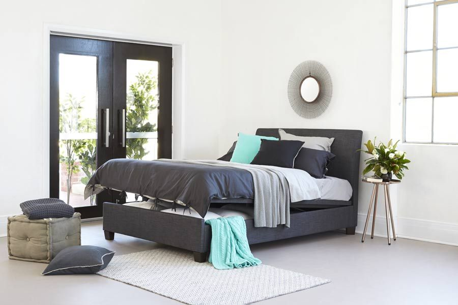 Vogue+Queen+Upholstered+Bed Bedshed $999 (discounted) | For the Home ...