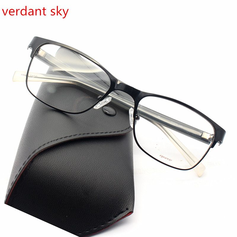 Click to Buy << 2017 The latest Italy design is black TR90 Men and ...