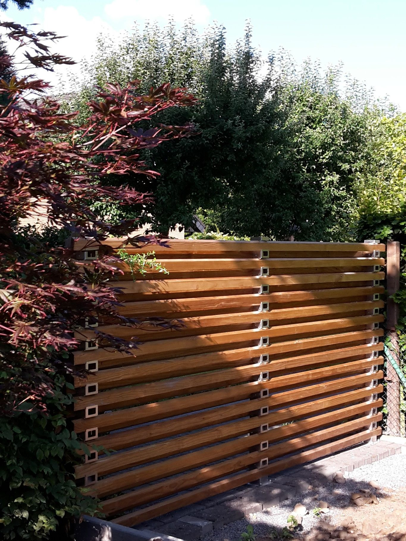 Ystempfosten Trigone Verbindung Gartenabtrennung Trennwande