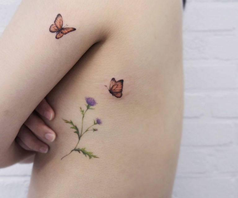 80 Reasons Why Every Girl Needs A Tiny Tattoo - Straight Blasted #colerbonetattoo