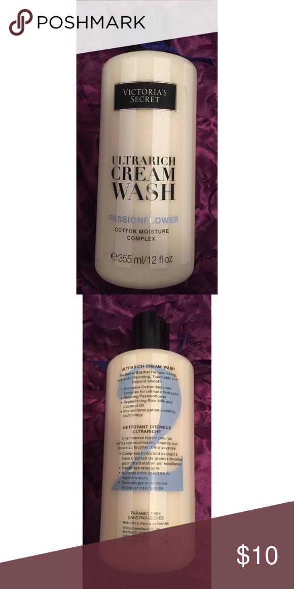 Victoria's Secret Cream Wash in Passionflower Ultrarich Cream Wash in Passionflower, Full Sized, New Victoria's Secret Other