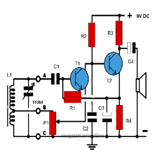 Simplest Am Radio Circuit Projects Radio Transistor Radio