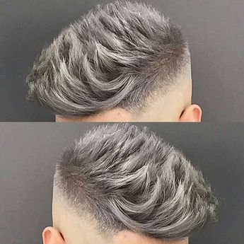 Jose The Barber 10 Love That Silver Grey Colour Men Hair Color Grey Hair Dye Grey Hair Men