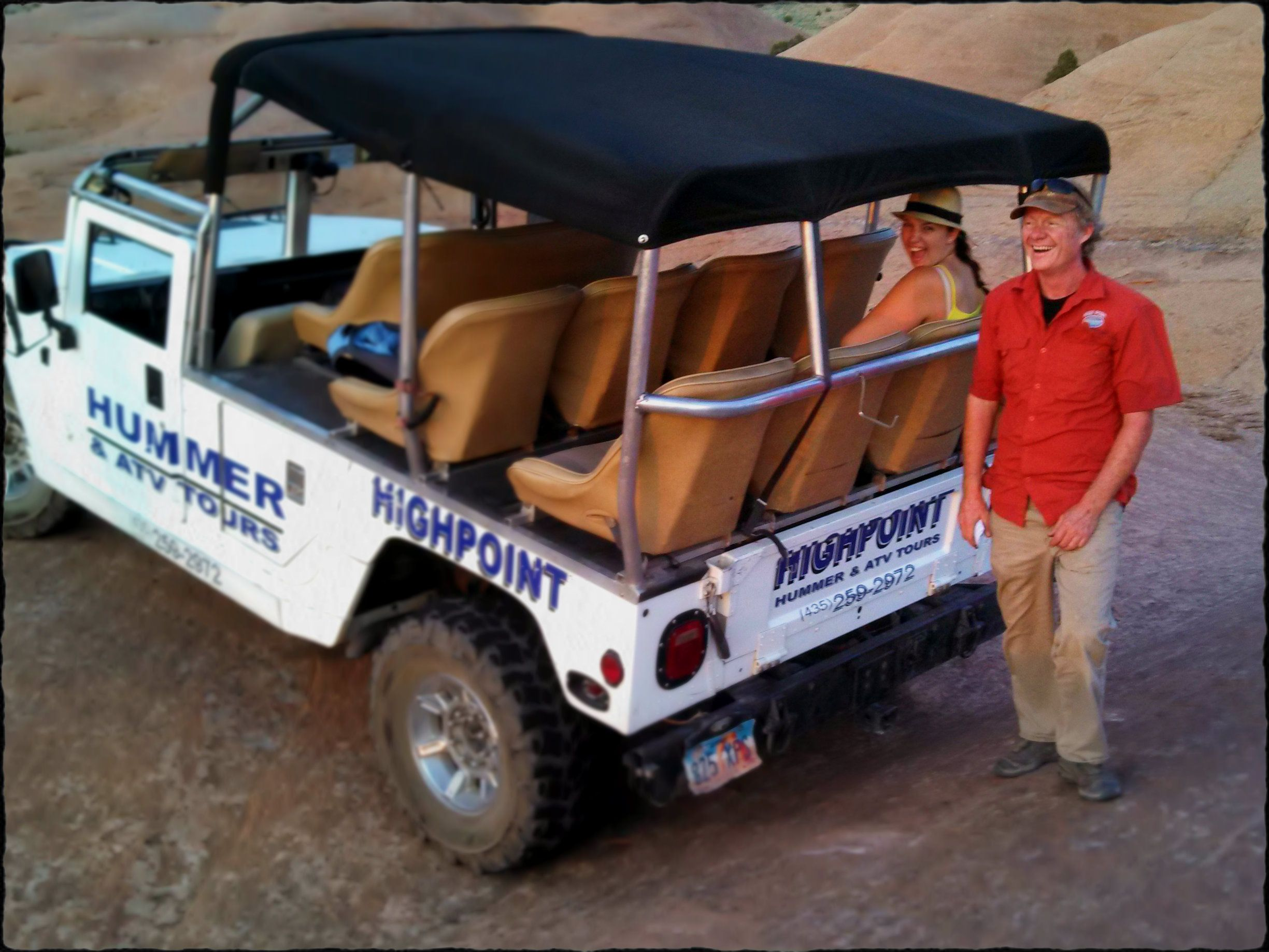 Another enjoyable hummer tour with one of our favorite