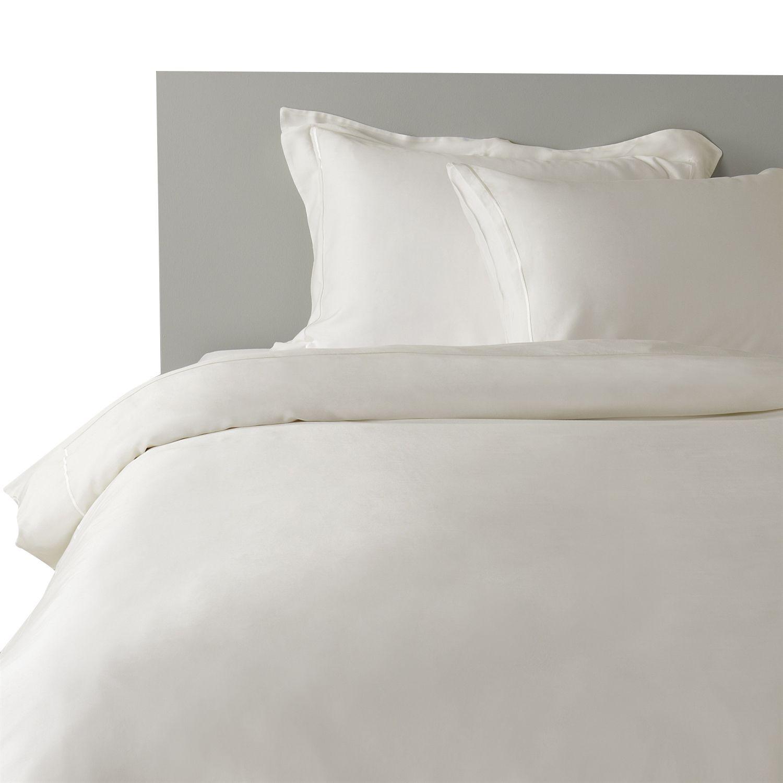 Chakra 100 Bamboo White Duvet Cover Set 4 Pcs Bamboo Bedding
