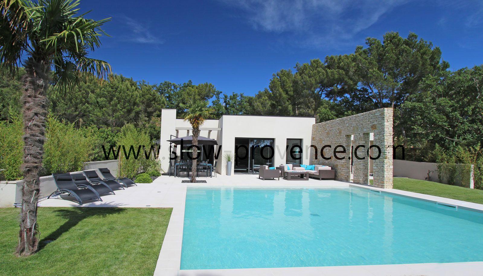 Villa ultra moderne à louer avec piscine chauffée privée jacuzzi pour 8 personnes proche