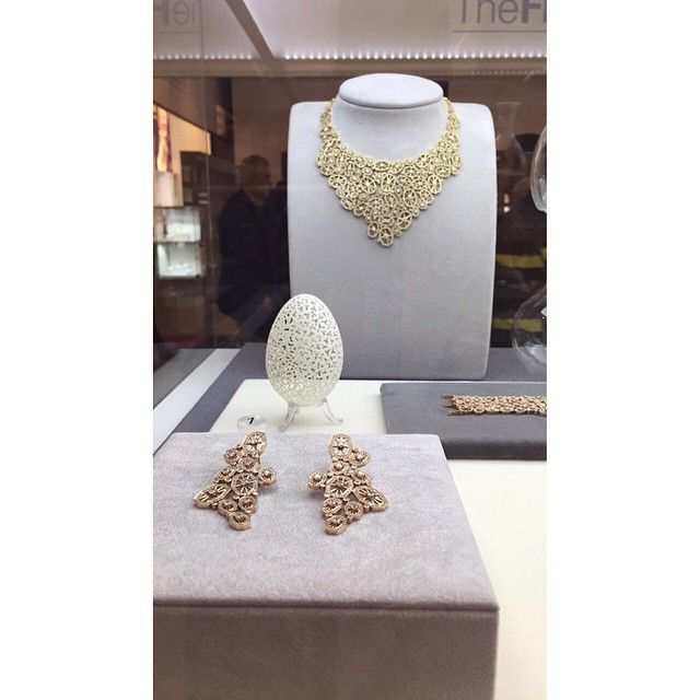 """""""COUTURE by OCTIUM showstoppers at TRENDVISION @vicenzaoro #octium #OctiumAtVicenzaoro #finejewelry #vicenzaoro2015"""""""