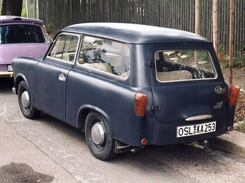 trabant 600 universal 1962 motorized vehicles cars. Black Bedroom Furniture Sets. Home Design Ideas