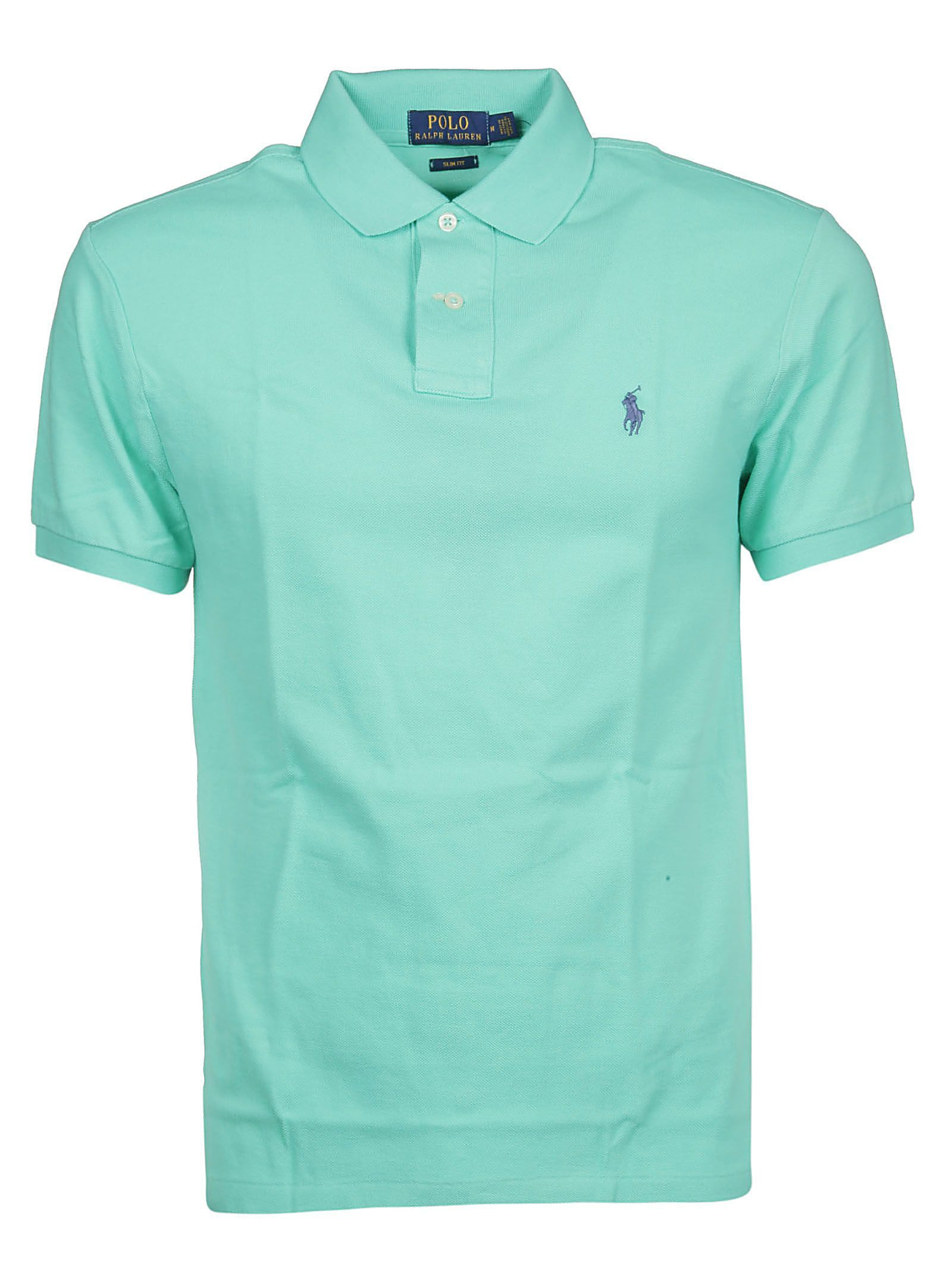Chest Logo Polo Shirt In Green Hotmail.fr
