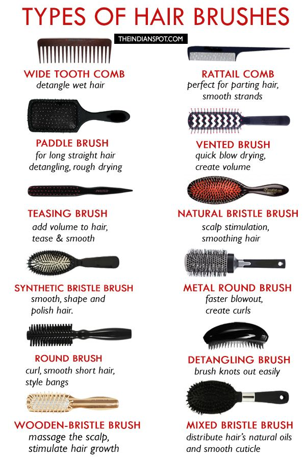 Types Of Hair Brushes How To Choose The Best Hair Brush