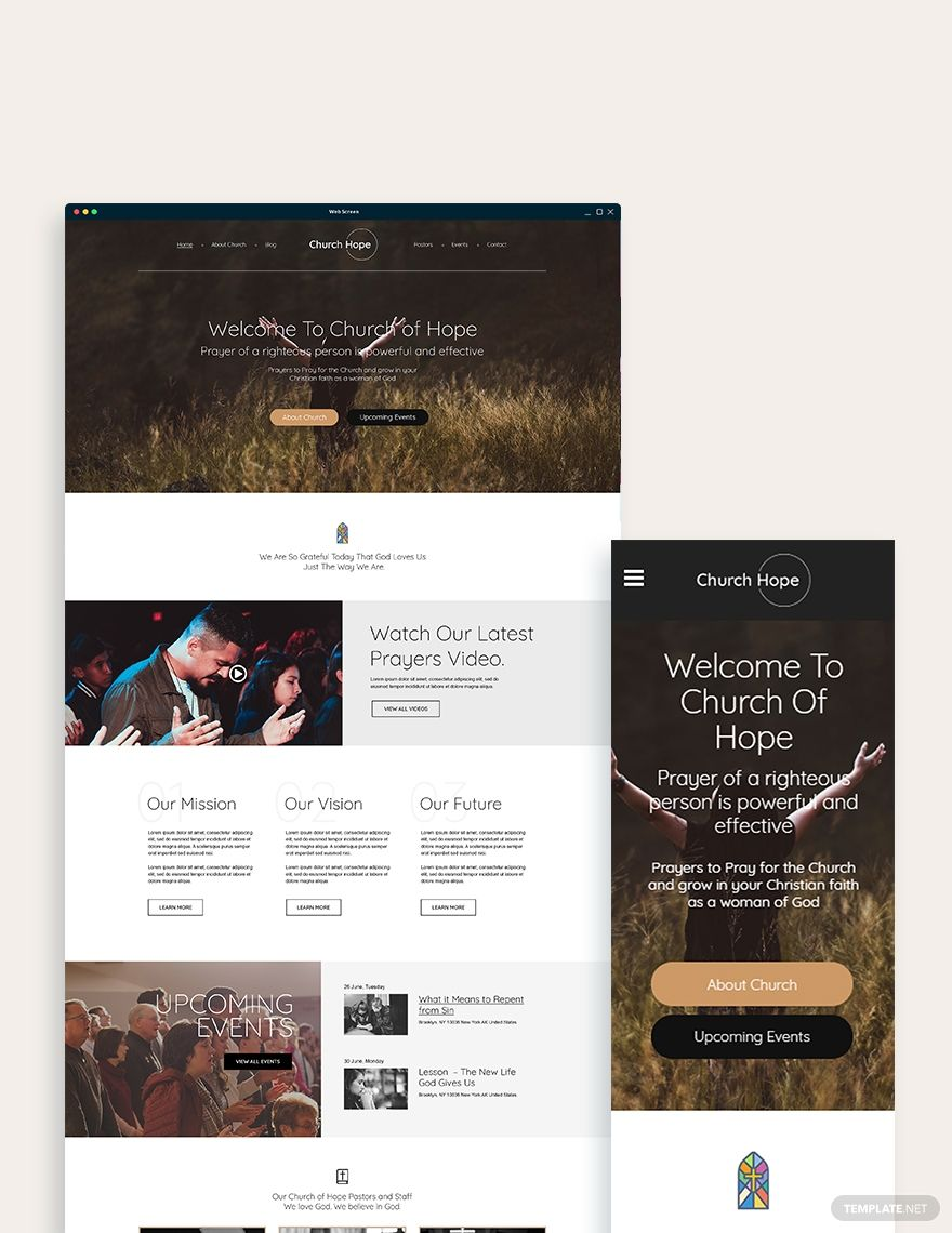 Church Bootstrap Landing Page Template #AD, , #AD, #Bootstrap, #Church, #Landing, #Template, #Page