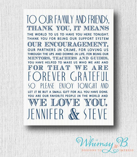 Thank You Message Wedding Gift: Wedding Day Thank You Guest Letter