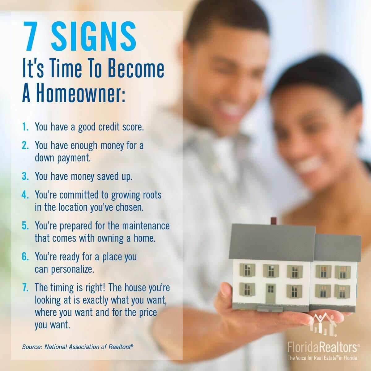 7 Signs It S Time To Become A Homeowner Good Credit Good Credit Score Homeowner