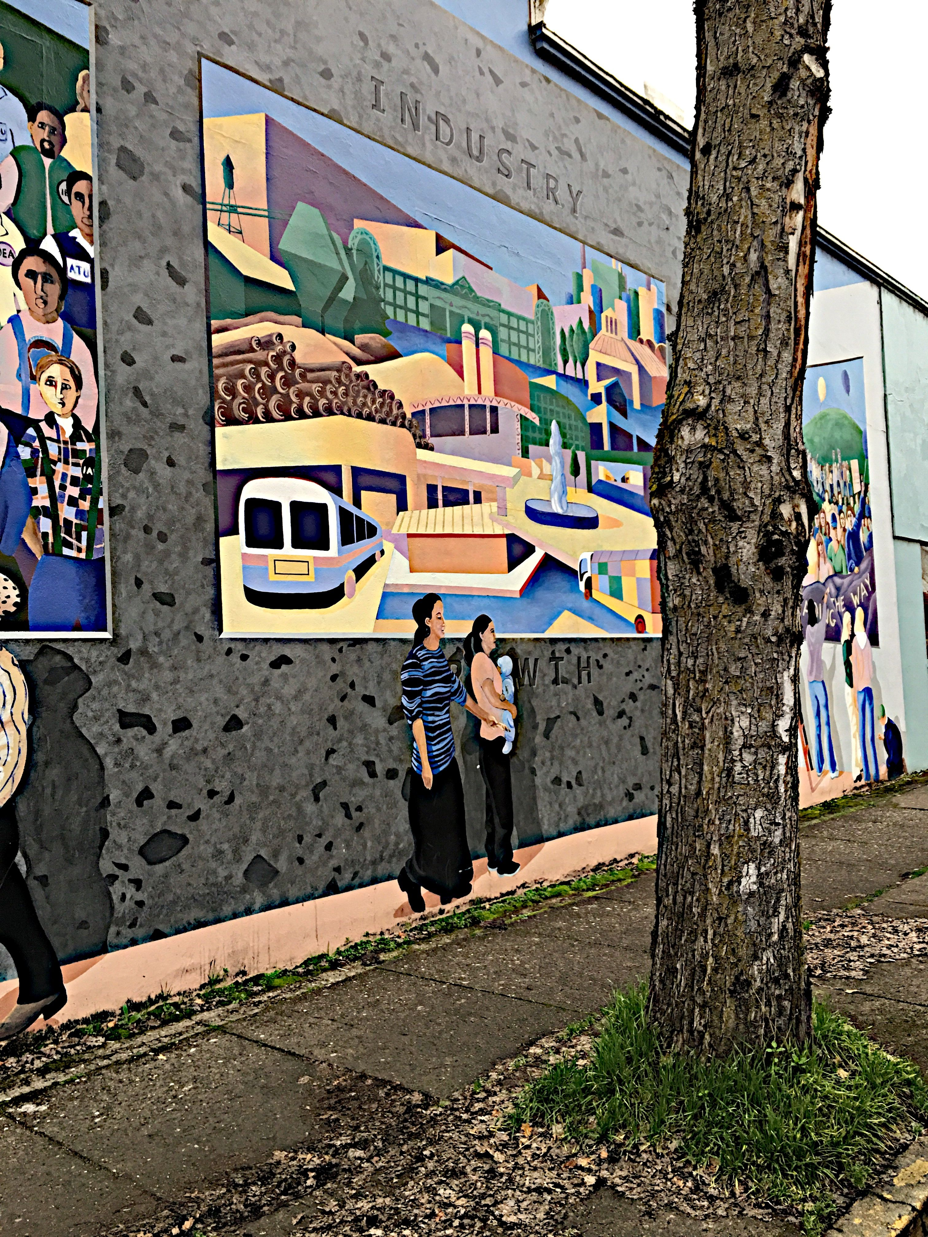 Mural downtown springfield or mural willamette valley