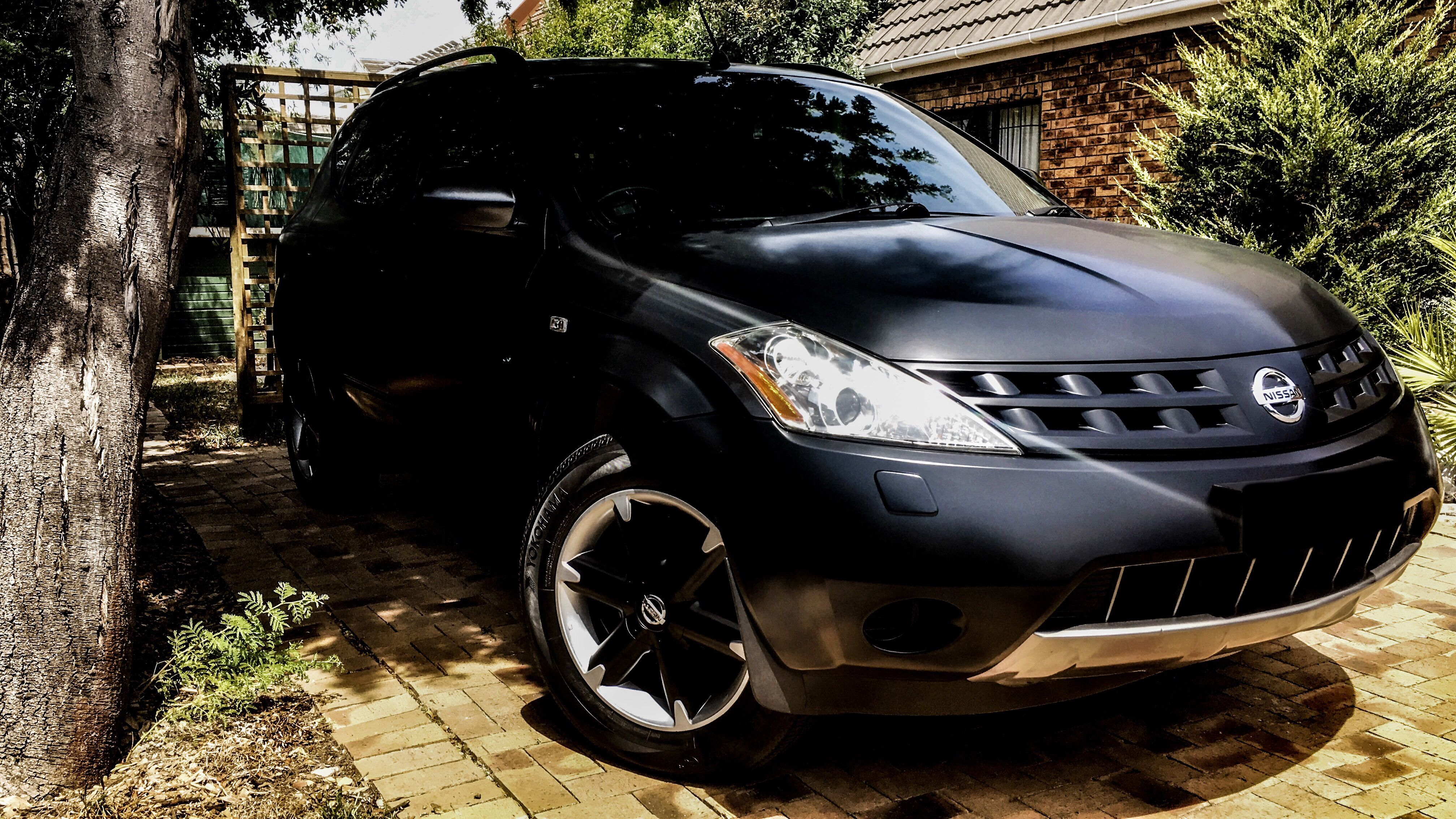 Nissan Murano BMWFrozenPaints FrozenBlack MatteBlack