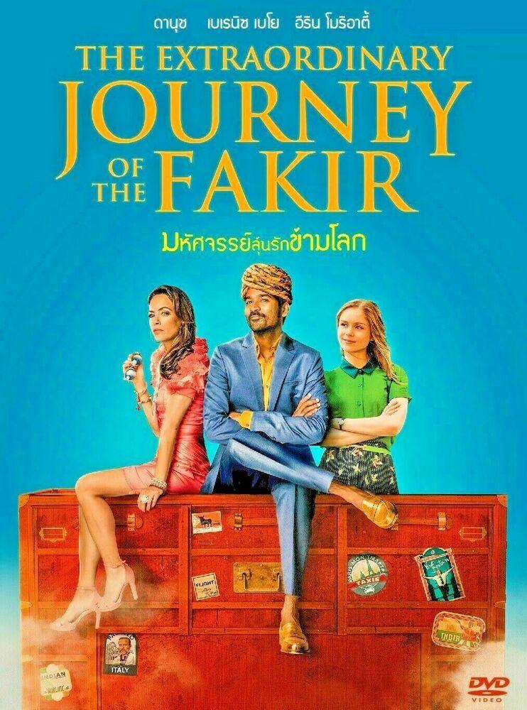 Theextraordinaryjourneyofthefakir 2018 Dvd Pal Color Adventure Adventure Comedymovies Fakir Indianmovies