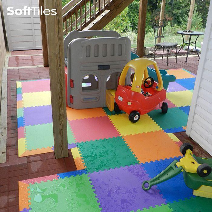 mats img safe fall soft outdoor playground flooring