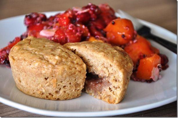 Balance-Akt: Fruchtig gefüllte Muffins