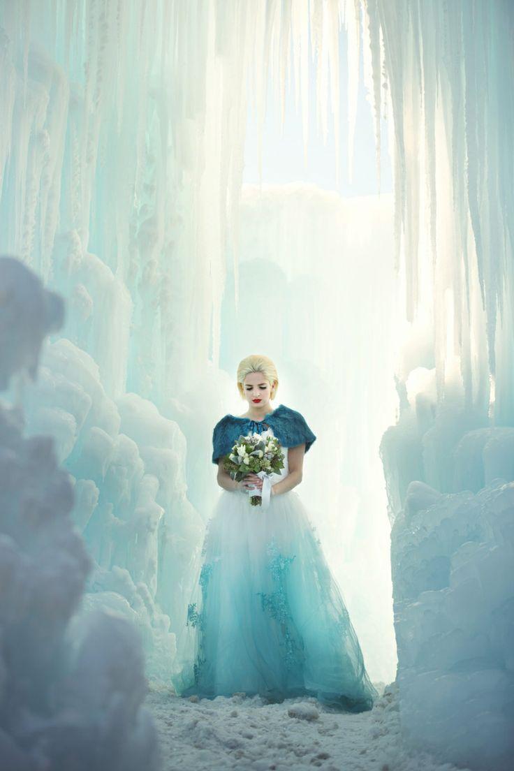 Winter wonderland wedding dress  Pin by Julianna JJ Bernal on Inspirational pictures for writing