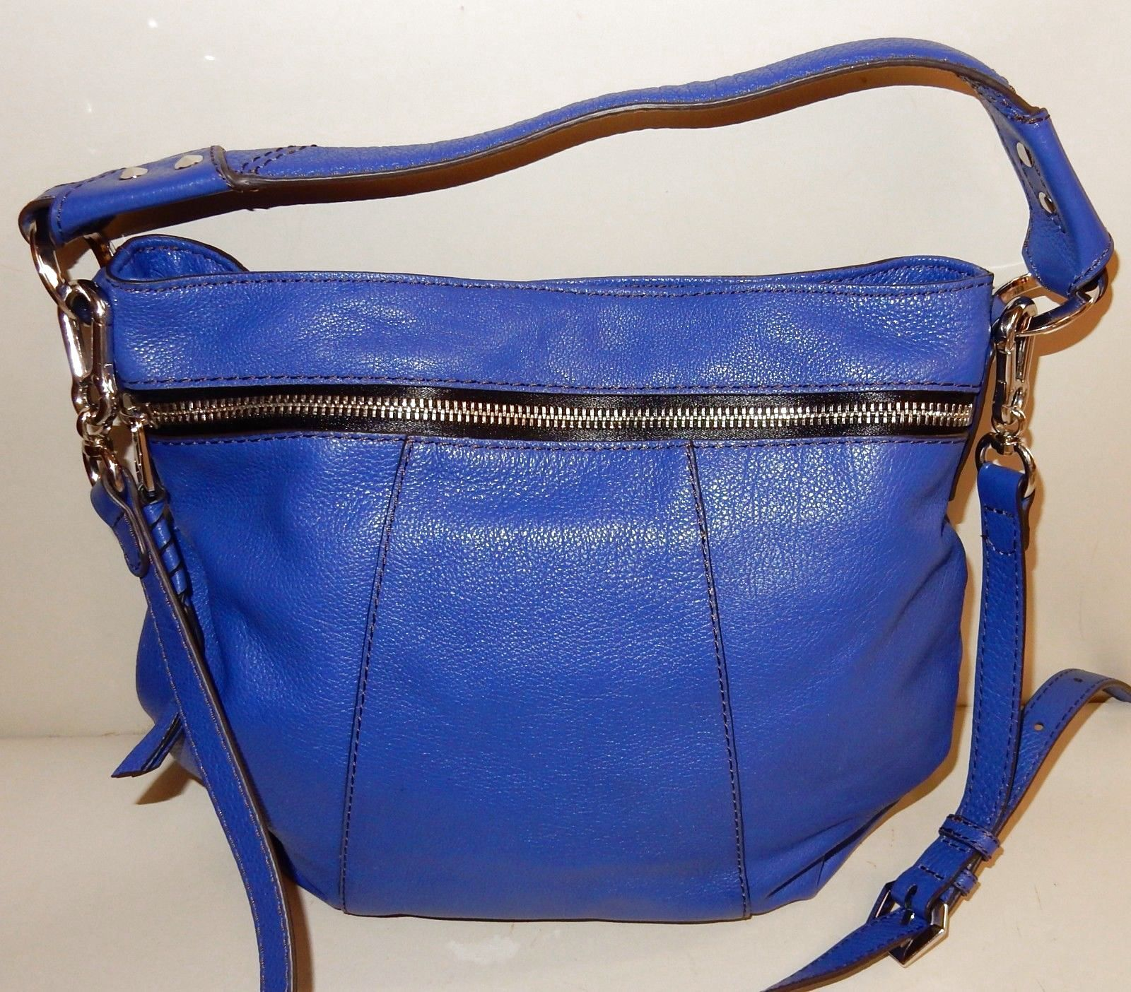 79e75b47e New orYANY Carla Italian Leather Hobo Bag Royal Blue $79.99 | orYANY ...