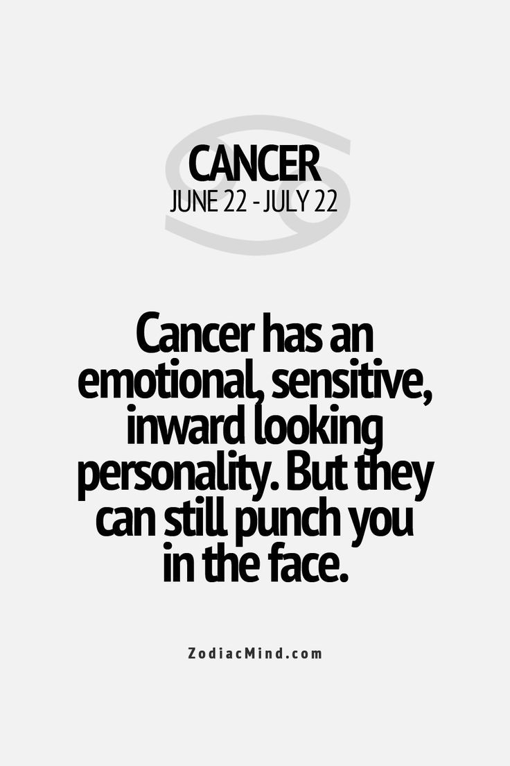 10 facts about cancer horoscope
