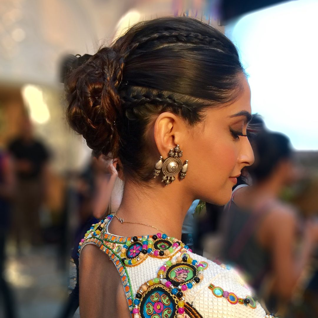 Indian Braids Hairstyle: Bollywood Hairstyles, Indian