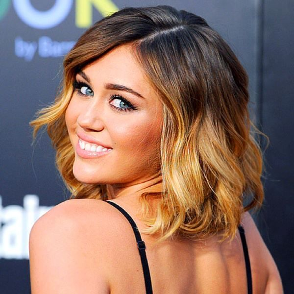 I love this short, drastic ombre