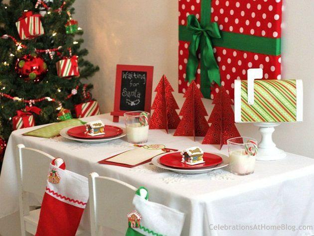 Budget Friendly Kids Christmas Table Christmas Table Decorations