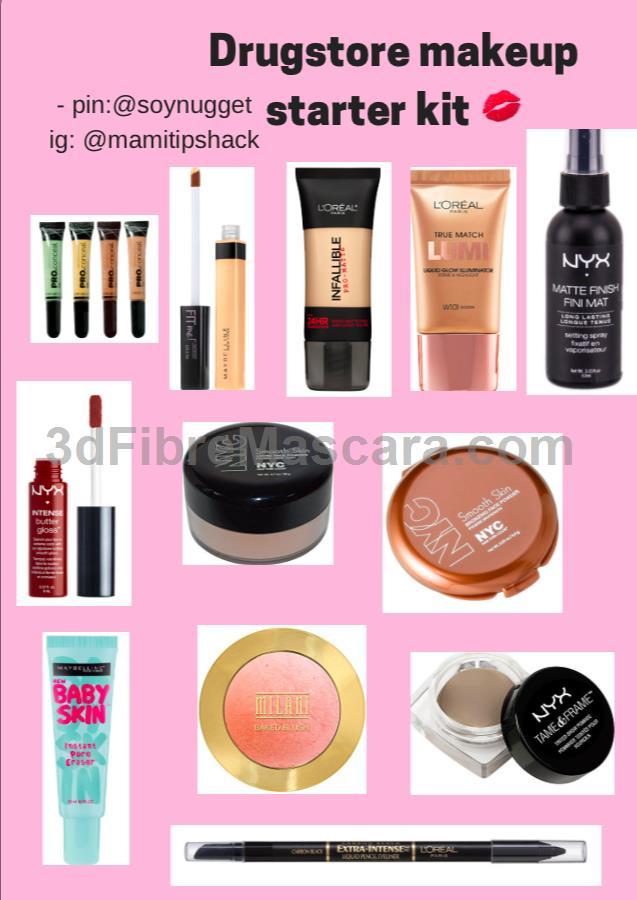 Starter Makeup Tutorial: Makeup Starter Pack