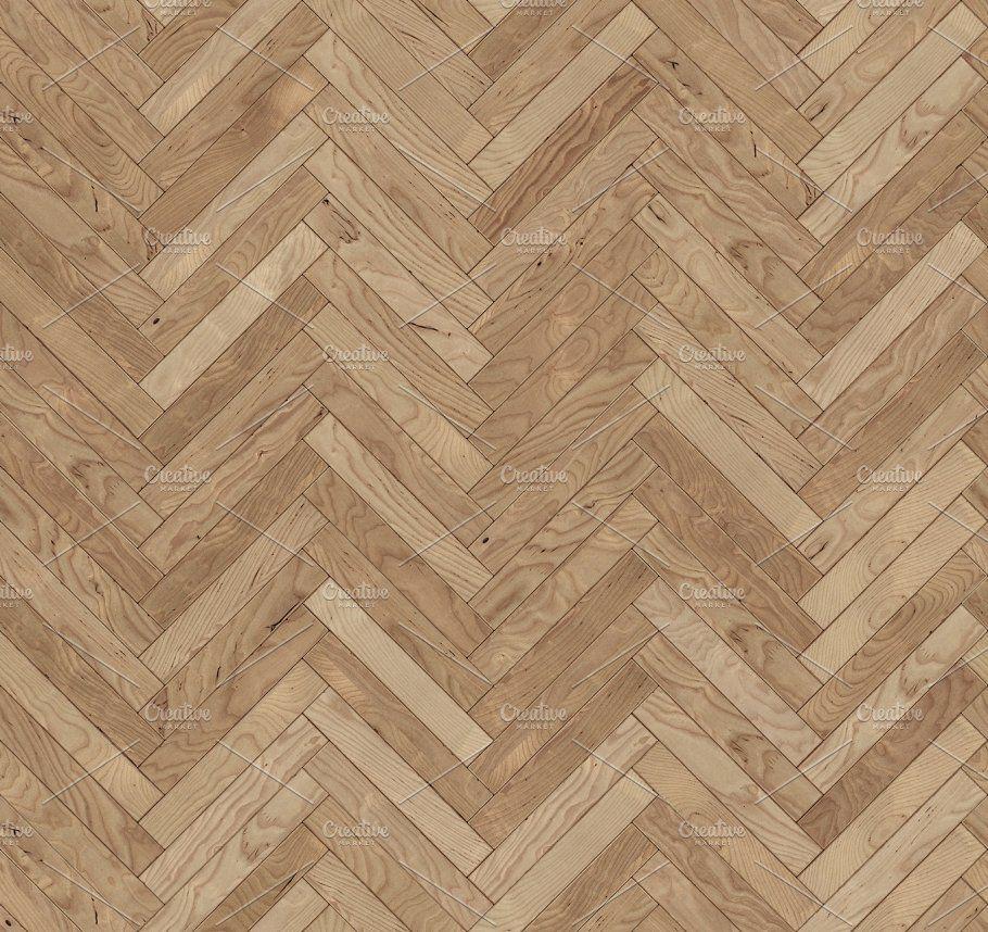 Chevron natural parquet seamless floor texture Floor