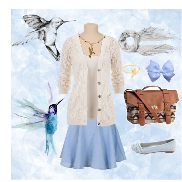 """My sweet hummingbird"" by thegirlwhono-oneknows on Polyvore"