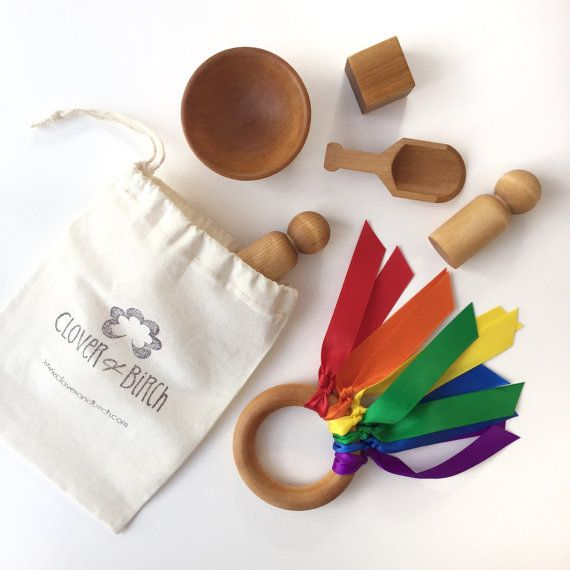 Montessori toy set stocking stuffer for children