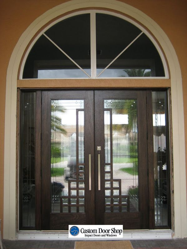 Unique And Modern Front Doors With Art Deco Design Custom Double
