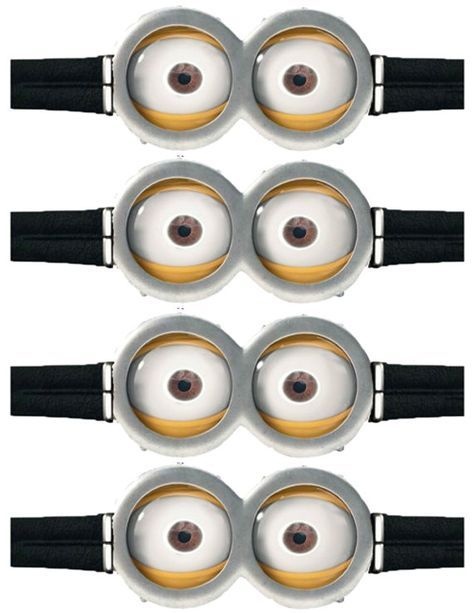 image relating to Minions Printable Eyes named MINION - Minion Video - Minion Goggles - Instantaneous Obtain