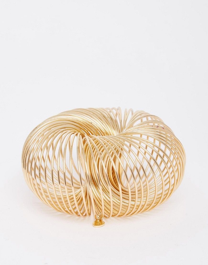 Fede Cheap Monday Eclipse Bracelet - Gold Cheap Monday Bracelets til Damer til hverdag og fest