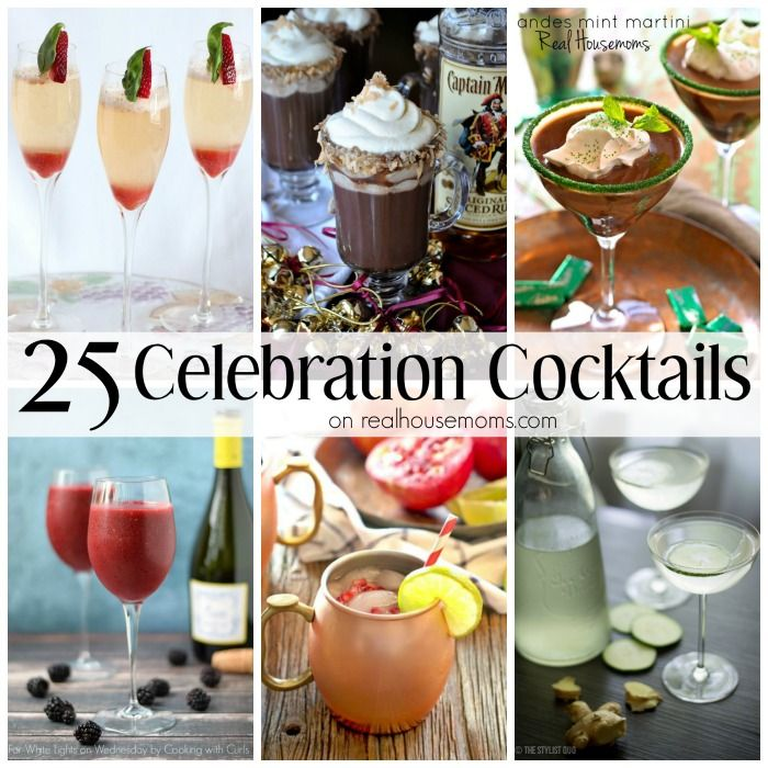 Get Your Party Hoppin' With 25 Celebration Cocktails