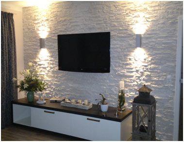Wohnzimmer renovieren ideen möbelideen steinwand wohnzimmer