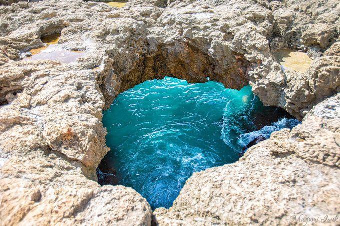 オアフ島の神秘的な青い洞窟「マーメイド・ケイブ」 | ハワイ | LINEトラベルjp 旅行ガイド