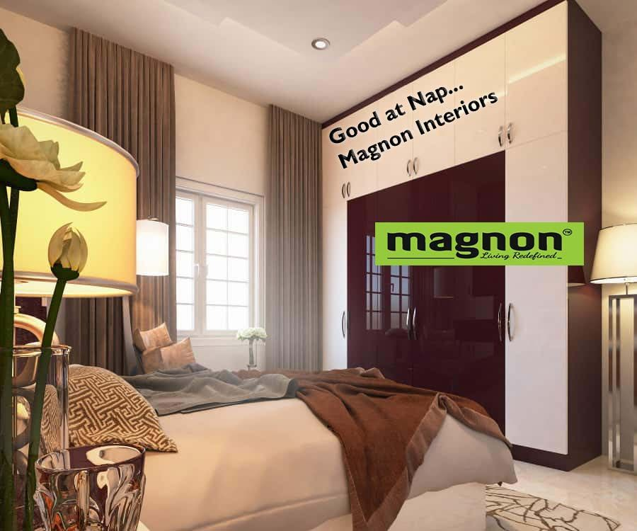 Bedroom Interiordesigners Bangalore Magnonfurniture