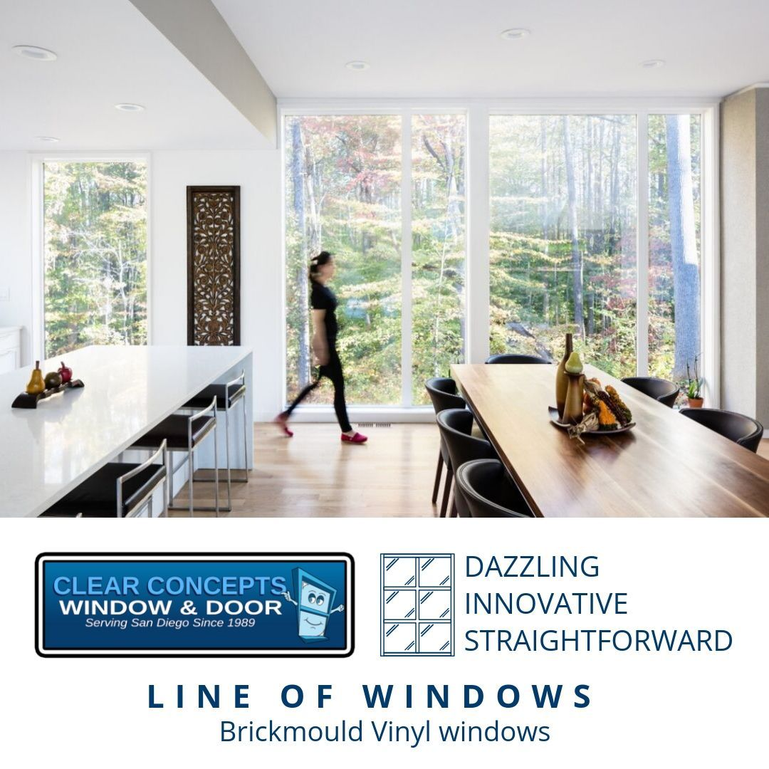 Brickmould Vinyl Windows By Jeld Wen Are One Of Our Most Innovative Straightforward Yet Dazzling Line Of Wind Window Vinyl Windows Vinyl Replacement Windows